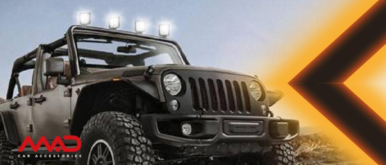 Illuminazione e sicurezza per la tua guida fuoristrada e sul lavoro